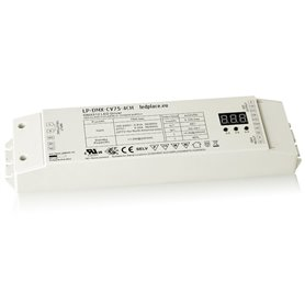 LP-DMX-CV75-4CH, 24V, 75W RGB/RGBW, Tuneble white, Single color driver