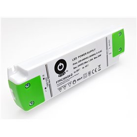 LED Power Supply 30W 24V TRIAC Dimmable