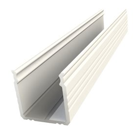 LED Profile white, 1m, 16x16mm