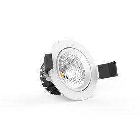LED COB Downlight 8W, dim to warm 95mm