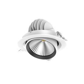 LED COB Downlight 8W, dim to warm 80mm, IP54