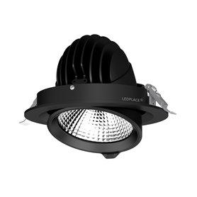 LED Scoop Downlight 15W, DALI, 145mm, Black, IP54