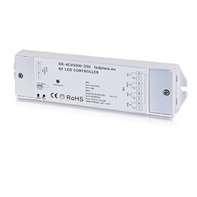 Wireless LED receiver/controller 350mA 4-channels