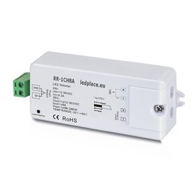 Wireless LED receiver/controller 12/24VDC, 8A