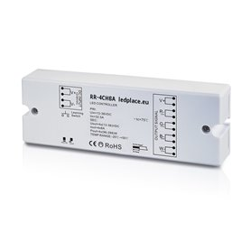 Wireless LED receiver/controller 12/24VDC, 4 x 8A, 4-channels